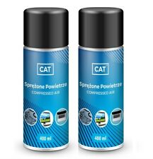 More details for 2 x 400ml compressed air duster gas spray cleaner max power  hfc free can