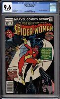Spider-Woman 1 CGC Graded 9.6 NM+ Marvel Comics 1978