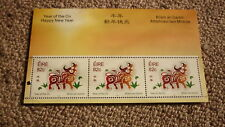 2009 IRELAND POST MINT STAMPS, YEAR OF THE OX SHEETLET MNH