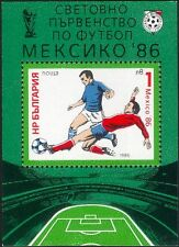 Bulgaria 1985 Football/WC/World Cup/Mexico'86/Sports/Games/Soccer 1v m/s n18214