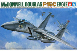 Mcdonnell Douglas F-15C Eagle Fighter 1:48 Plastic Model Kit 61029 Tamiya