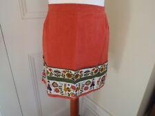 Vintage half apron. Excellent condition. Orange