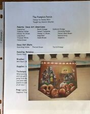 PP20 PUMPKIN PATCH by Debby Blair Decorative Tole Painting Pattern Packet