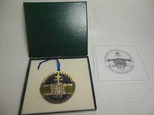 1996 United States Secret Service Christmas Ornament w Box & Paper