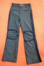 MC PLANET Pantalon noir stretch Taille 36 FR