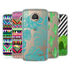 OFFICIAL BIANCA GREEN PATTERNS SOFT GEL CASE FOR MOTOROLA PHONES