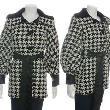 Dolce & Gabbana Houndstooth Winter Wool Coat