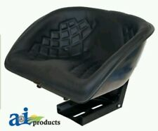 Universal Black Bucket Seat For Hesston Model Tractors