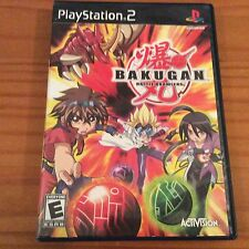 Playstation 2 Game: Bakugan Battle Brawlers (2009) With Manuel Pre-Owned, Tested