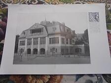 1909... Bauzeitung 24n/Bonn eisclub/ausgustusbrücke Dresda
