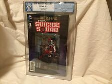 The New 52 Futures End SUICIDE SQUAD #1 3-D Cover PGX 9.9 MINT Like CGC