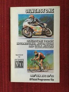 Silverstone International Motor Cycle & Cycle Meeting 21-22 August 1971