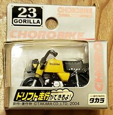 TAKARA TOMY CHORO Q CHOROBIKE NO 23 GORILLA MOTORCYCLE BIKE