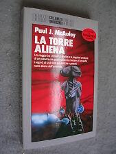COSMO ARGENTO # 193 - PAUL J. MCAULEY - LA TORRE ALIENA - NORD - OTTIMO -LIB45
