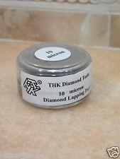1 bottle THK 10 micron Diamond polishing lapping paste pastes compound 20 Gram