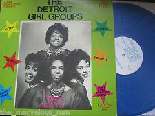 """SUPREMES-(The Primettes) & Detroit Girl Groups-*~""""Blue Vinyl""""~""""EXCELLENT""""~LP!!!"""