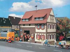 Vollmer 3653 H0-Siedlungshaus con Telaio di Legno 123x80x120mm Nuovo Conf. Orig.