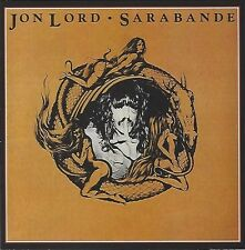 JON LORD/SARABANDE * NEW & SEALED CD * NOUVEAU *