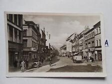 Postkarte Ansichtskarte Thüringen.Hauptstraße mit HO Kauflauf