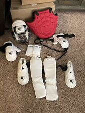 Karate Sparring Gear And Bag