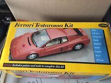 Ferrari Testatossa 1/16 Testors Kit Complete New