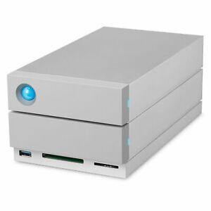 LaCie 2Big Dock Thunderbolt 3 8TB 2-Bay USB 3.1 External Hard Drive STGB8000400