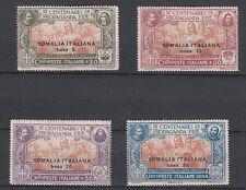 SOMALIA 1923 PROPAGANDA FIDE  4 VALORI SS. 45 - 48  NUOVA MLH LINGUELLATA FRESCA