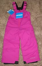 PINK Columbia GIRLS 3T infant Snow Chillee Pants Bibs Ski Winter OUTGROWN 70$