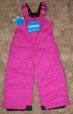PINK Columbia GIRLS 2T infant Snow Chillee Pants Bibs Ski Winter OUTGROWN 70$