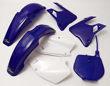 YZ 125 250 1996 - 1999 Super EVO Motocross MX UFO Plastic Kit OEM Blue White