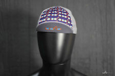 Loco Fixie Unisex Cycling Cap One-Size, Quick-Dry- Purple & Gray