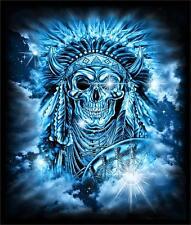 INDIAN SKULL MEDICINE MAN  TEE SHIRT SIZE XXLARGE adult TJB30 UNISEX tshirt NEW