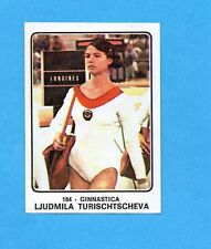 CAMPIONI dello SPORT 1973/74-Figurina n.184- TURISCHTSCHEVA -GINNASTICA-Rec