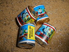 THOMAS THE TANK TRAIN ENGINE HERSHEY NUGGET WRAPPERS BIRTHDAY PARTY FAVORS