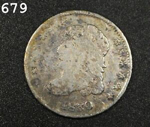 1830 Capped Bust Half Dime *Free S/H After 1st Item*