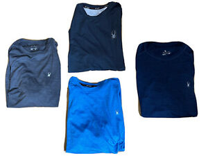 Spyder Men's s/s shirts Surf-Sand-Sun active UV Hydro tees choose color/sz NWT