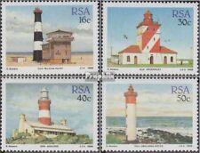 Zuid-Afrika 739-742 (volledige uitgave) gestempeld 1988 Vuurtorens