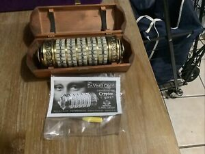 Da Vinci Code Changing The Cryptex Code Authorized Functional Replica Wooden Box