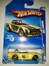 Hot Wheels Triumph TR6. Faster Than Ever Series. 2009 Mattel. (P-44)