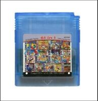 Game Boy Color cartridge 61 in 1 (multi cart for GameBoy GBC) or 108 games in 1