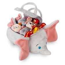 NWT! Authentic US Disney Dumbo Mini Tsum Tsum Plush Set of 4 with bag TImothy