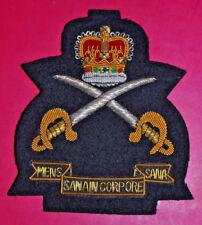 Army Physical Training Corps regimental bullion wire blazer badge APTC