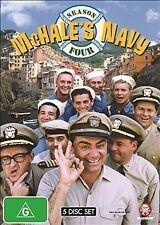 McHale's Navy : Season 4 (DVD, 2009, 5-Disc Set) (Single Case Version ) REGION 4