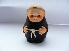 "Goebel    Friar    Tuck    Salt    Pot    Height   2.1/2""  Inches  Blue Bee Mark"