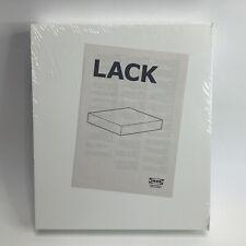 """Ikea LACK Wall Floating Shelf 11 3/4"""" X 10 1/4"""" White 16353 New Sealed"""