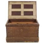 "Antique fancy woodworker carpenter cabinet furniture maker tool chest 36"" Wide"
