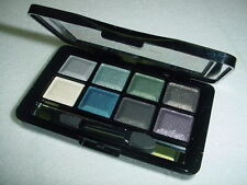 8 Color Makeup Eyeshadow Shimmer Metallic Palette Brush Alpha Bright Beauty 09