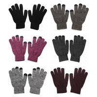 tactile Hommes et femmes Hivernal Chapeau Foulard de laine Chapeau écharpe gant