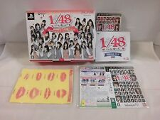 PlayStation Portable -- AKB1/48 Idol to Koishitara -- First. Boxed. JAPAN 56982