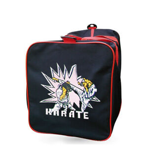 Karate Square Sports Duffel Bag Holdall Carry Kit Gym Training Martial Arts
